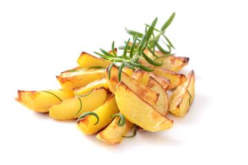 Knusprige Rosmarin-Kartoffelecken