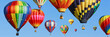 Colorful hot air balloons - 60770521