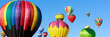 Colorful hot air balloons - 60770714