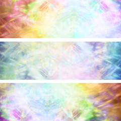 Colourful Grunge Website banner headers