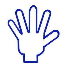 五本指のロゴ