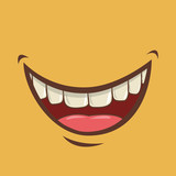 Fototapety mouth design