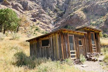 Vintage cowboy fence line cabin #3