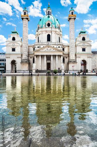 Saint Charles's Church (Wiener Karlskirche) in Vienna, Austria