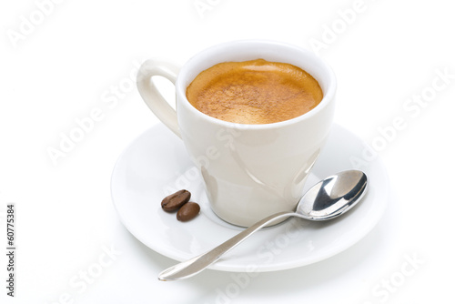 cup of espresso, isolated