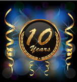 10 years anniversary party celebration