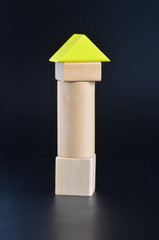 Blocks tower toy