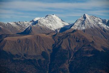 Mountains of Krasnaya Polyana (Sochi, Russia)