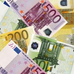 Tapis de billets euros