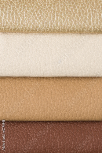 Leather sampler