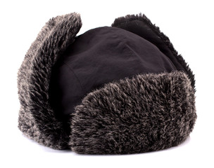 Fur cap for winter