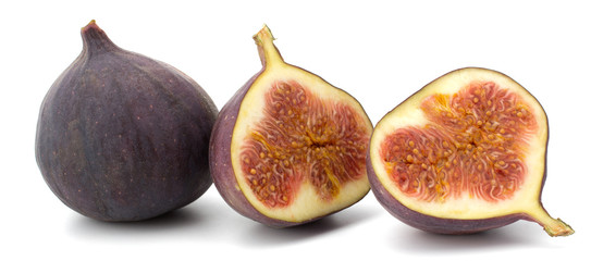 Fresh figs Fruits isolated on white background