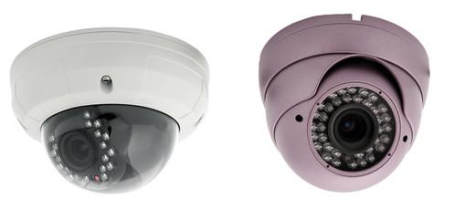 surveillance camera , studio shot