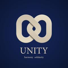 vector unity symbol design template