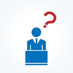 ビジネスマン pc 疑問