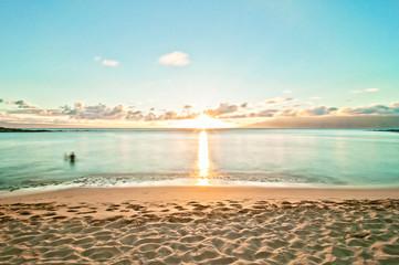Kaanapali beach in Maui - Hawaii