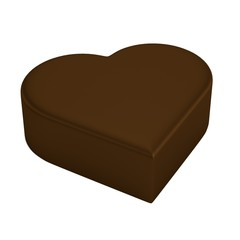 realistic 3d render of chocolate candy