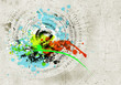 Obrazy na płótnie, fototapety, zdjęcia, fotoobrazy drukowane : Graffiti background