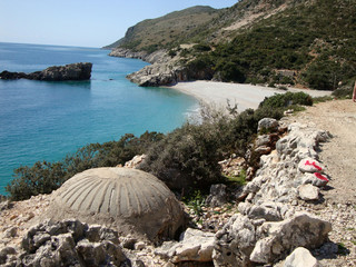 Dhermi and Drymades beach, South Albania