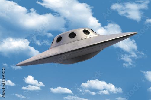 Unidentified Flying Object in sky - 60790308