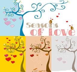 le stagioni dell'amore