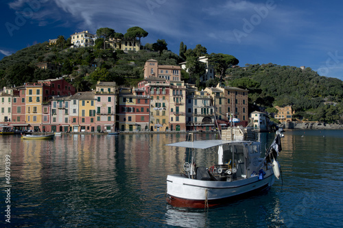 Colorful Houses in Portofino