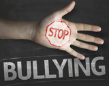 Creative composition with the message Stop Bullying poster