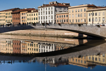 Ponte di mezzo,Pisa