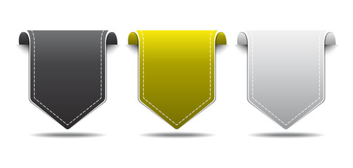 Labels Vector Icon Design