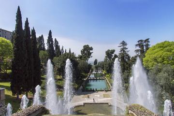 Villa d'Este in Tivoli - Italy