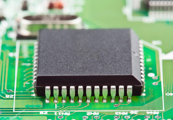 integrated circuit motherboard soldier