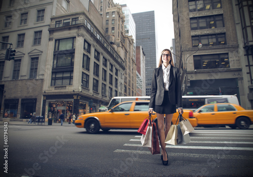 shopping in New York