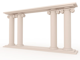 Ancient columns of marble #3