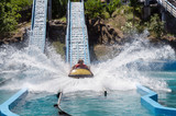 Attraction waterslides