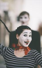happy mime