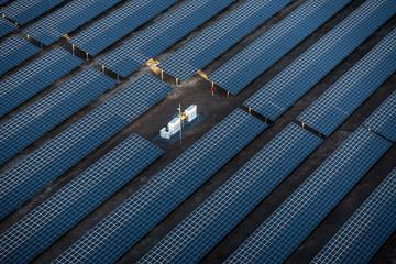 Luftbild - Solarpark