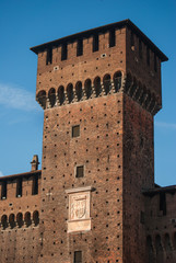 Tower of  the Castle Sforsesco