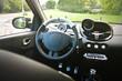 Dashboard in urban car