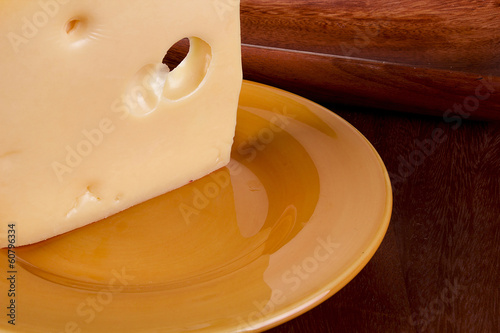 Cheese ceramic plate