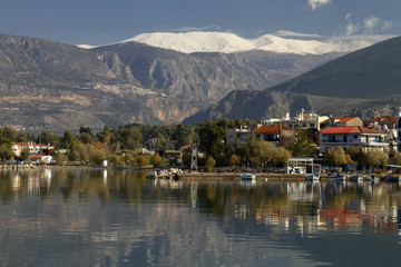 Itea, Delphi, And Parnassos Mountain, Greece