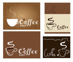 illustrazioni sul caffè