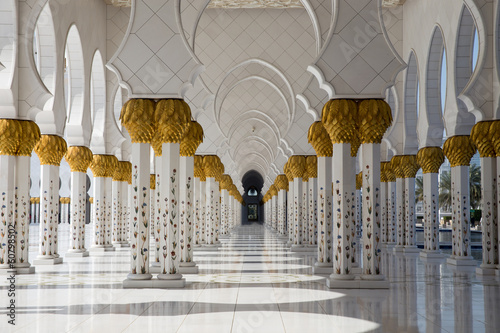 Fototapeta Sheikh Zayed Mosque in Abu Dhabi