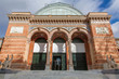 Madrid - Facade of Palacio de Velasquez in Buen Retiro