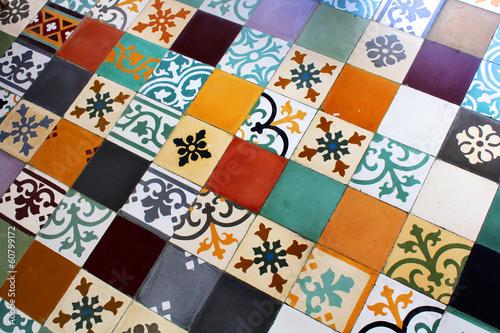 Carreaux de ciment - Cement tiles - 60799172