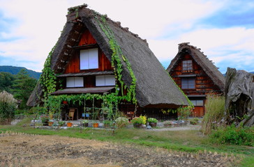 Antique cottages - Japan
