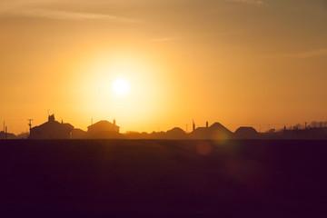 sunset houses