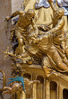 Vienna - Martyrium of st. John the Nepomuk in Peterskirche
