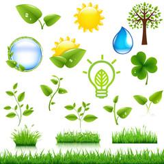 Ecology Symbols Set
