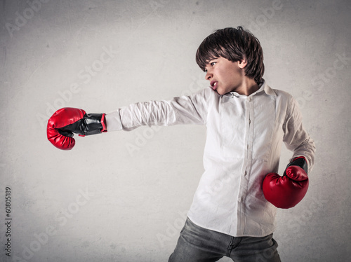 boxing kid