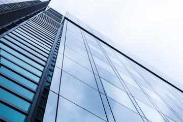Hochhaus - modernes Bürogebäude in Frankfurt
